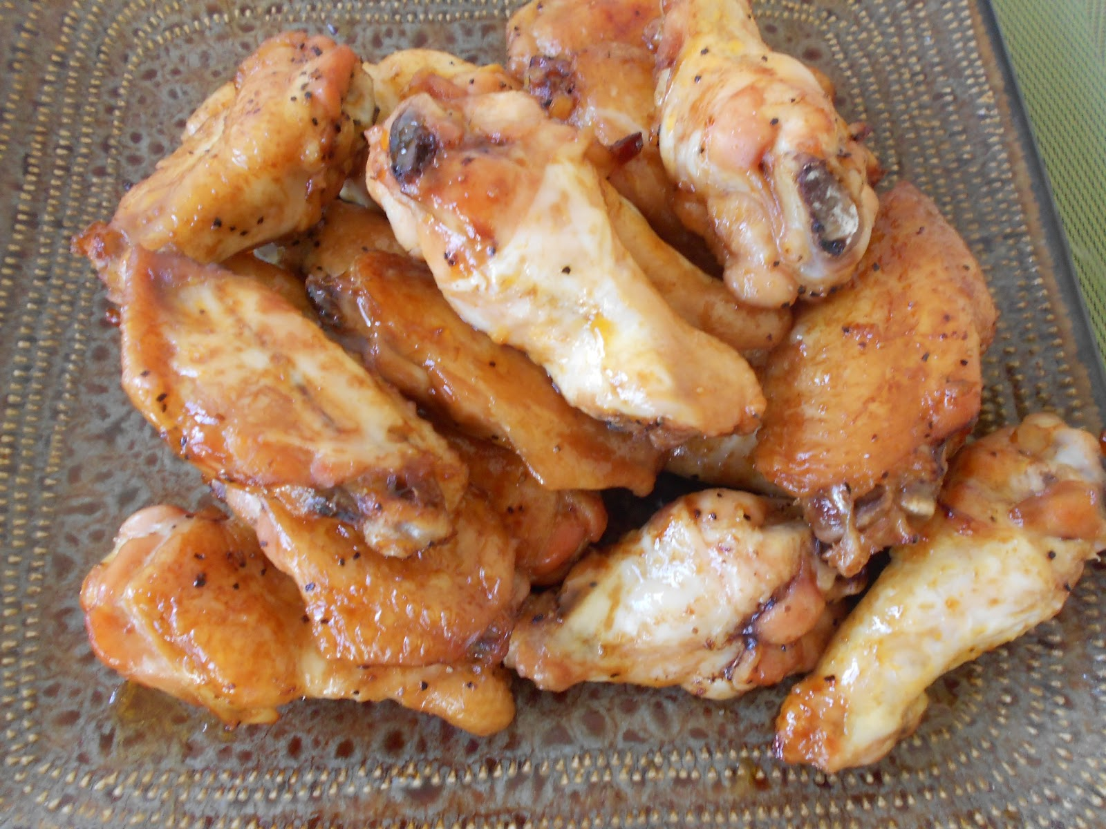 Mid-Week Mixers Baked Spicy Chicken Wings by Naomi Blackburn