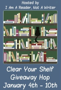 clear your shelf giveaway hop 2014